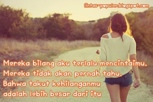 Gambar DP BBM Galau Sedih Romantis Cinta  Caption