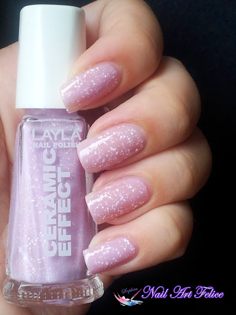 CE103 Soft Fruits - Ceramic Sorbet Effect Layla - Swatch04 - Nail Art Felice