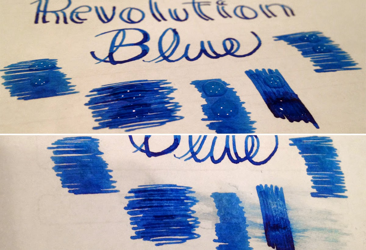 Introducing Noodlers Revolution Blue Ink