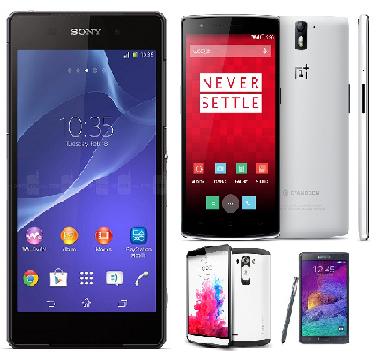 Harga HP Android RAM 3GB terbaru 2015