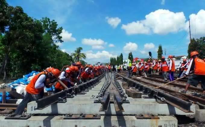 Konsep Menhub Bangun Jalur Ganda Kereta Bogor-Sukabumi