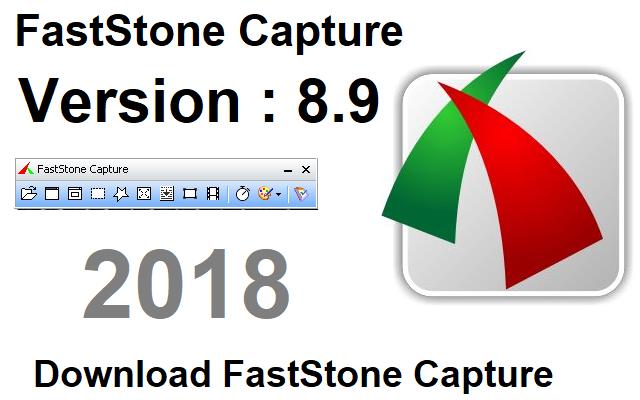 تحميل برنامج تصوير الشاشة بالصور والفيديو FastStone Capture 8.9