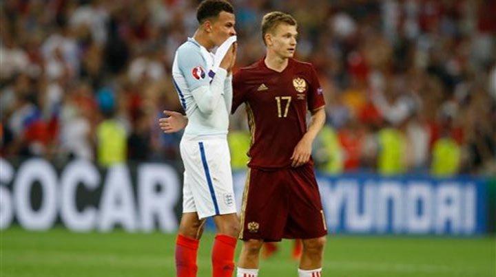 Inglaterra empata con Rusia en su debut de la Eurocopa 2016