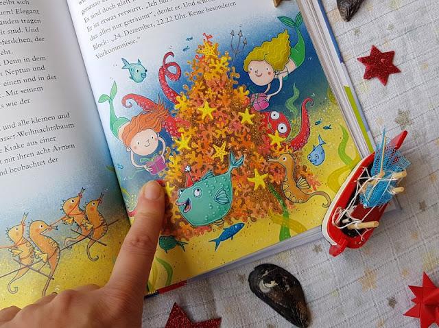 """Heute ein Buch! Die """"1-2-3 Minuten-Geschichten: Kunterbunte Weihnachten"""" und das Vorlesen in der Weihnachtszeit. Dieses süße Kinderbuch bietet schöne, auch maritime Geschichten zum Vorlesen für Kinder und Eltern."""