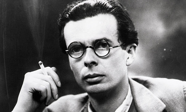 Aldous Huxley - If I Could Have Dinner with Anyone // WWW.THEJOYBLOG.NET