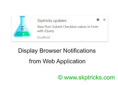 Desktop Notification - Best Push Notifications Online skptricks