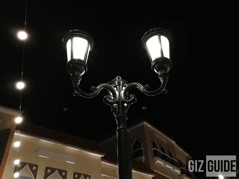 Night drama shot