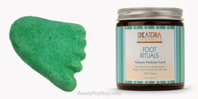 december favorites food care lush stepping stone and shea terra foot rituals volcanic pedicure scrub