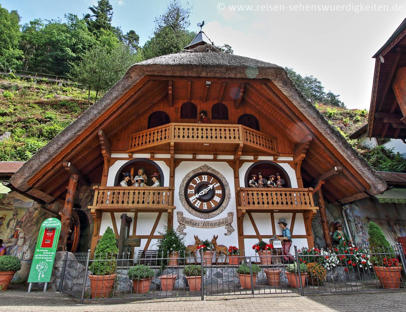 Hornberger Uhrenspiel im Schwarzwald