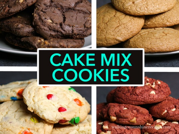 Boxed Spice Cake Cookies