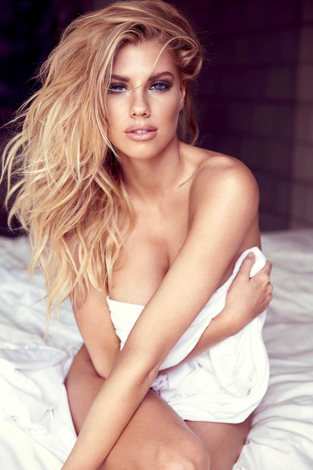 Charlotte McKinney in Self Assignment Photoshoot 2017 by Randall Slavin