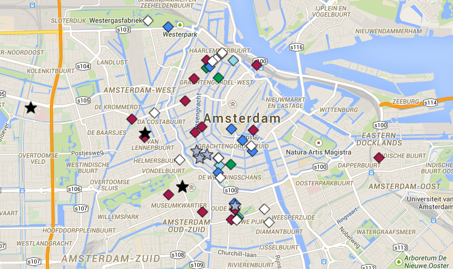 Hotspots Amsterdam Amsterdam City Guide Whiskers Lions