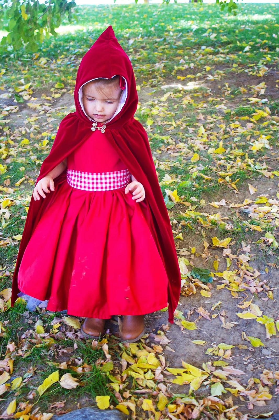 Do It Yourself Divas Diy Little Red Riding Hood Costume