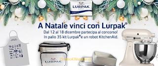 Logo Gioca e vinci gratis kit Lurpak e robot KitchenAid