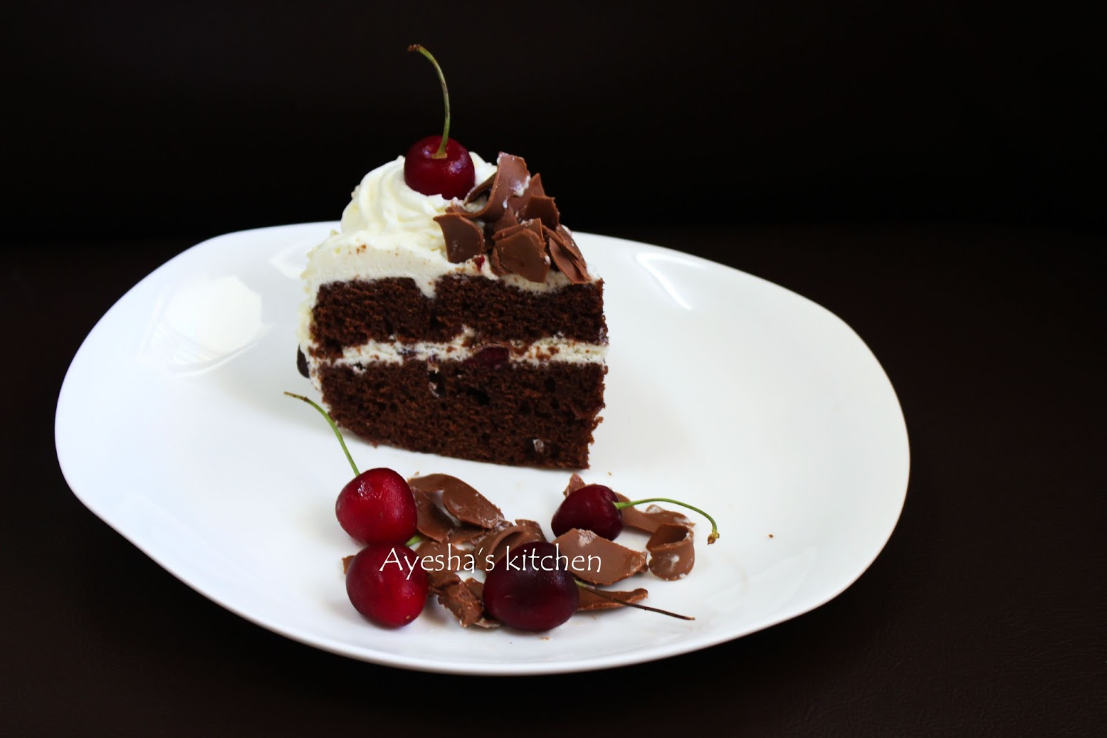 Easy Black Forest Cake Recipe Without Egg
