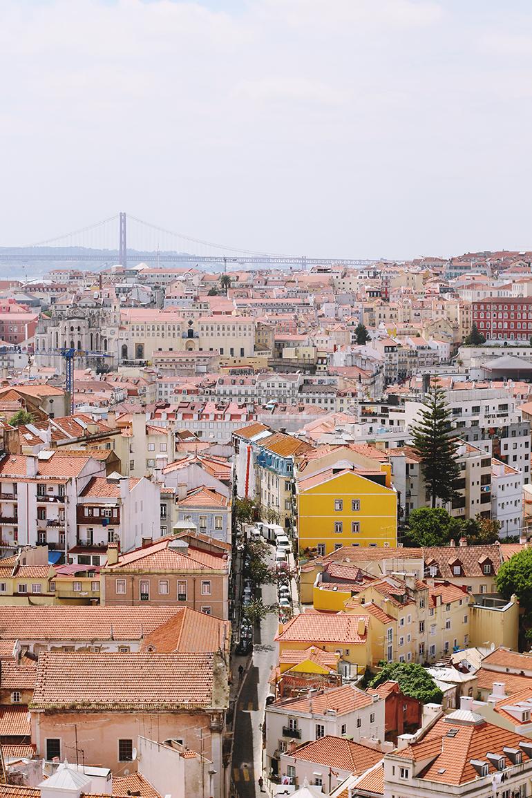 Lisbon panorama