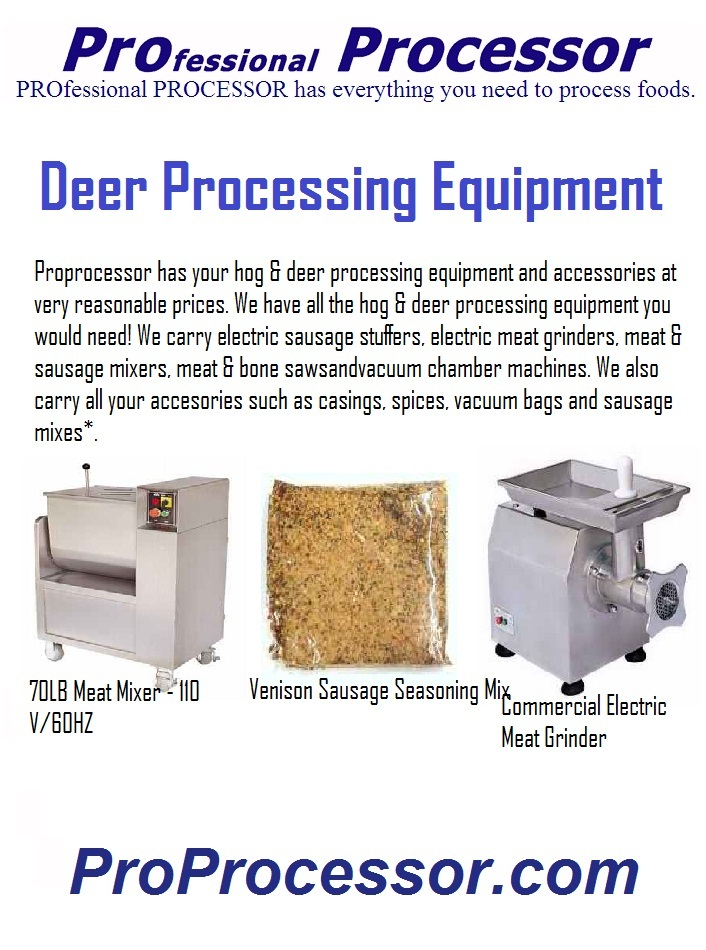 Food Processing Equipment for the Professional – Proprocessor com