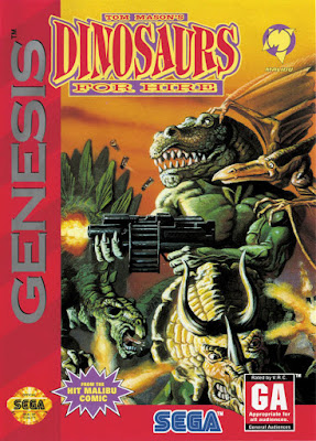 Review - Dinosaurs for Hire - Mega Drive