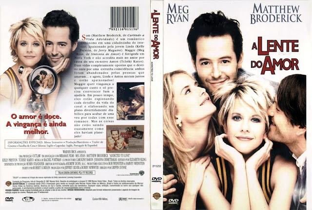Capa DVD A Lente do Amor