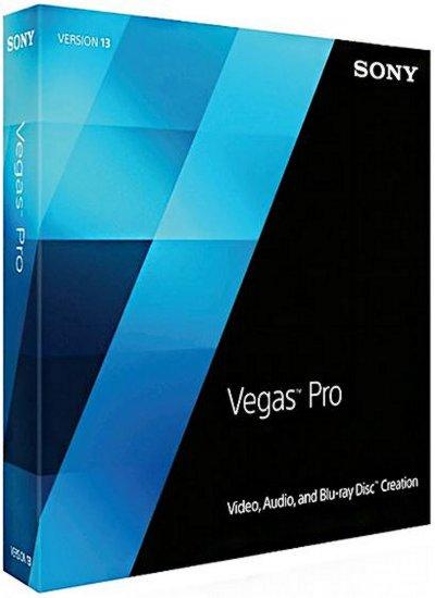Sony Vegas Pro 13.0 Build 543 poster box cover