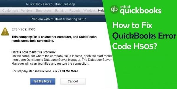 How to Resolve QuickBooks Error H505? by Johnson Jack