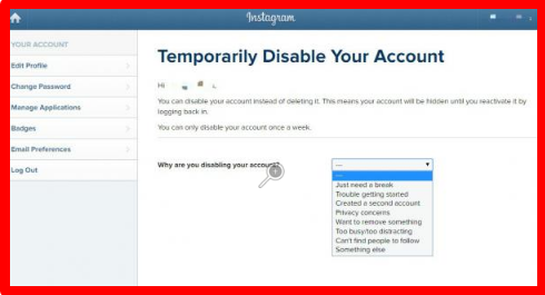 How To Permanently Delete Instagram