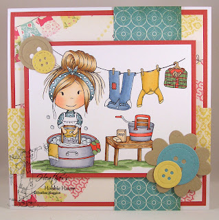 Heather's Hobbie Haven - Washboard Ellie Card Kit