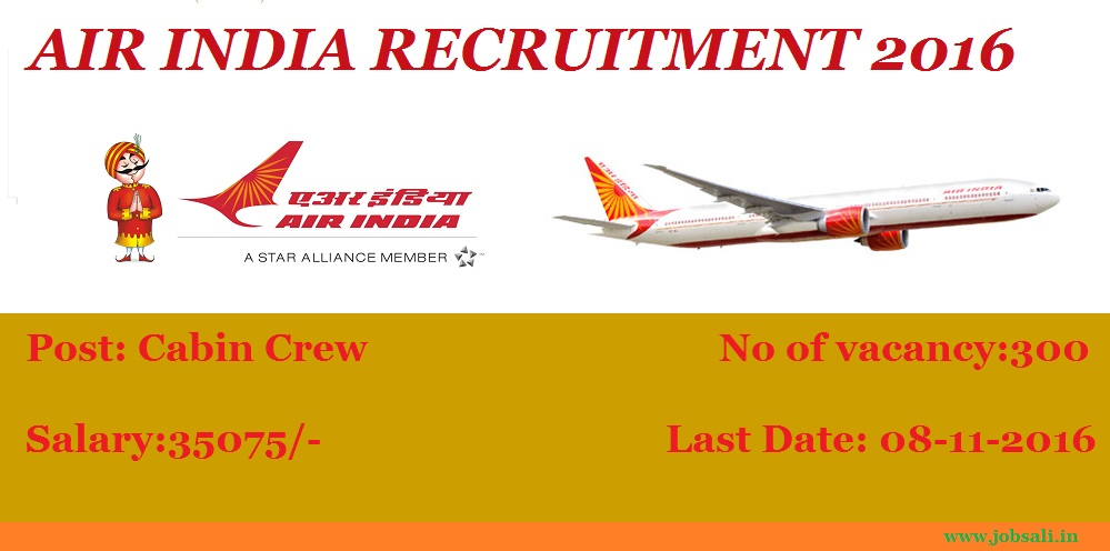 Air India Career, Air India Jobs, Latest Government Jobs