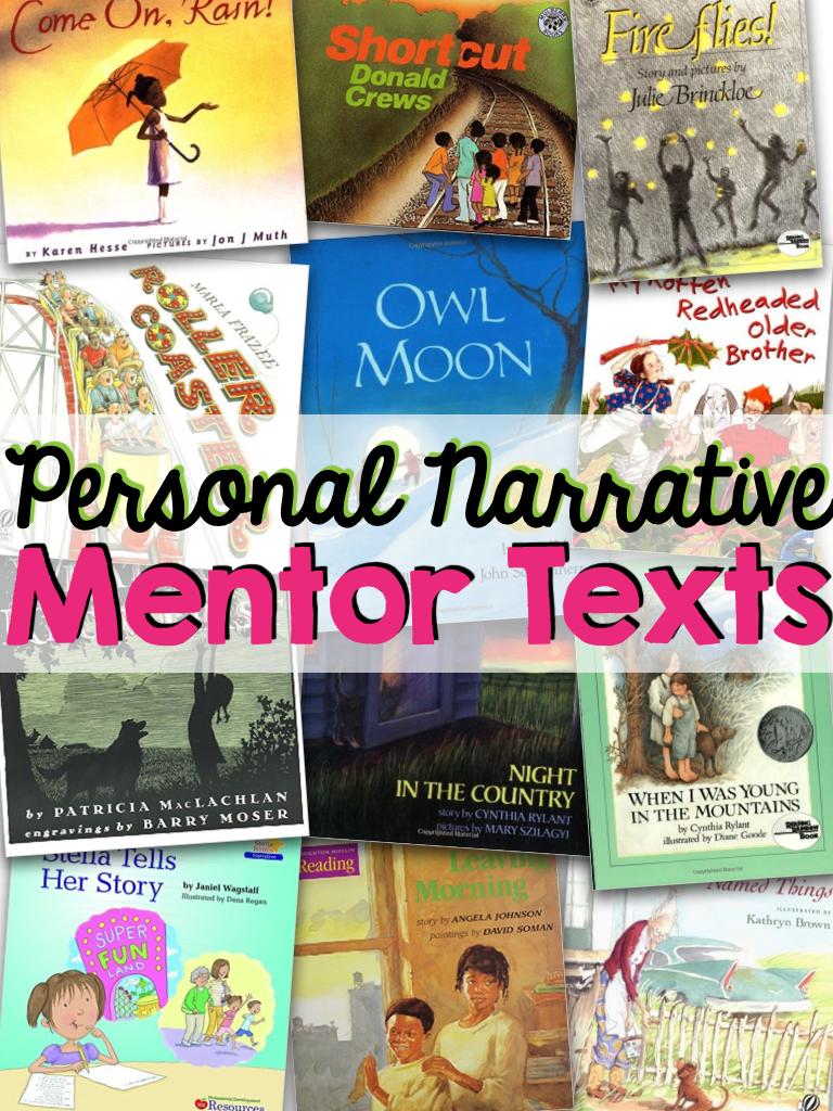 12 Books to Teach Personal Narrative | True Life: I'm a Teacher