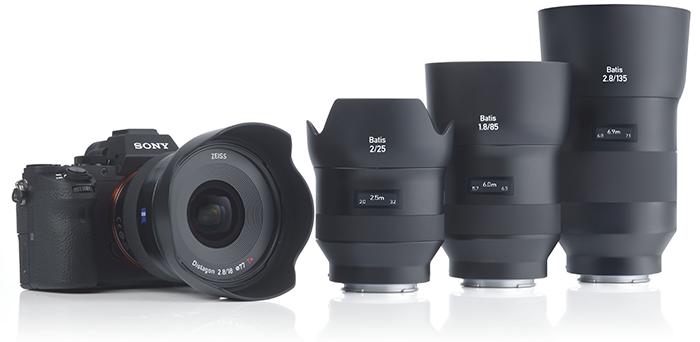 Объектив Zeiss Batis и камера Sony