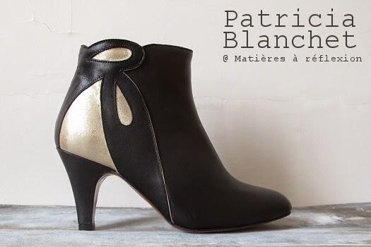 Low boots Patricia Blanchet Mulolan retro