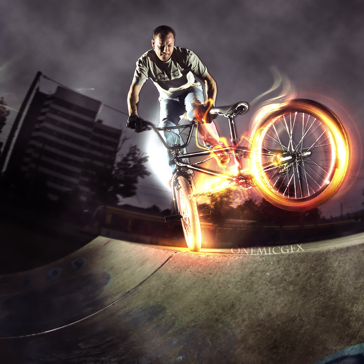 wallpapers hd for mac: BMX Freestyle Wallpaper HD