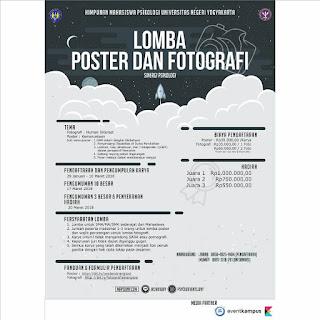 Lomba Fotografi dan Poster Psikologi UNY 2018
