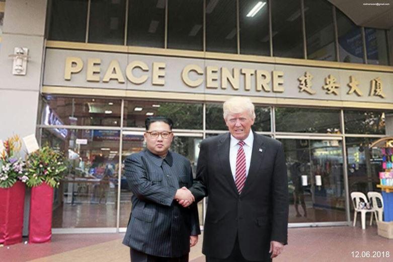 """Résultat de recherche d'images pour """"Donald Trump, Kim Jong-un, singapore city, 2018"""""""