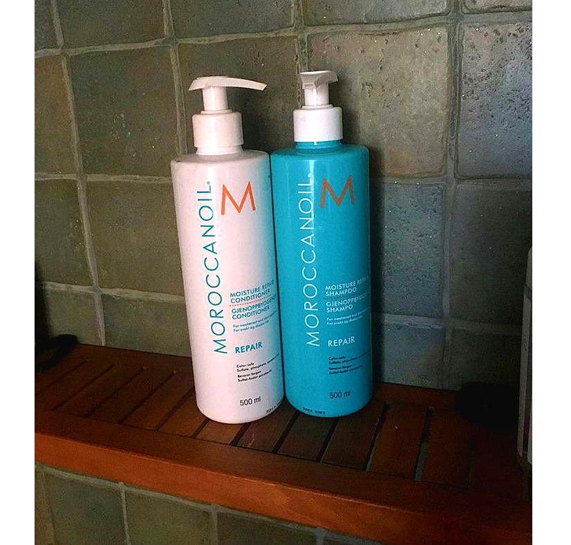 Moroccan Oil Moisture Repair Shampoo & Conditioner - REVIEW