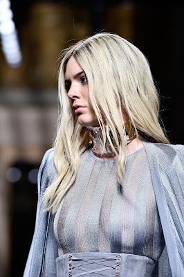 Kendall Jenner, Balmain Show at Paris Fashion Week