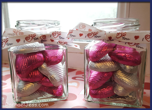 creating valentine favours