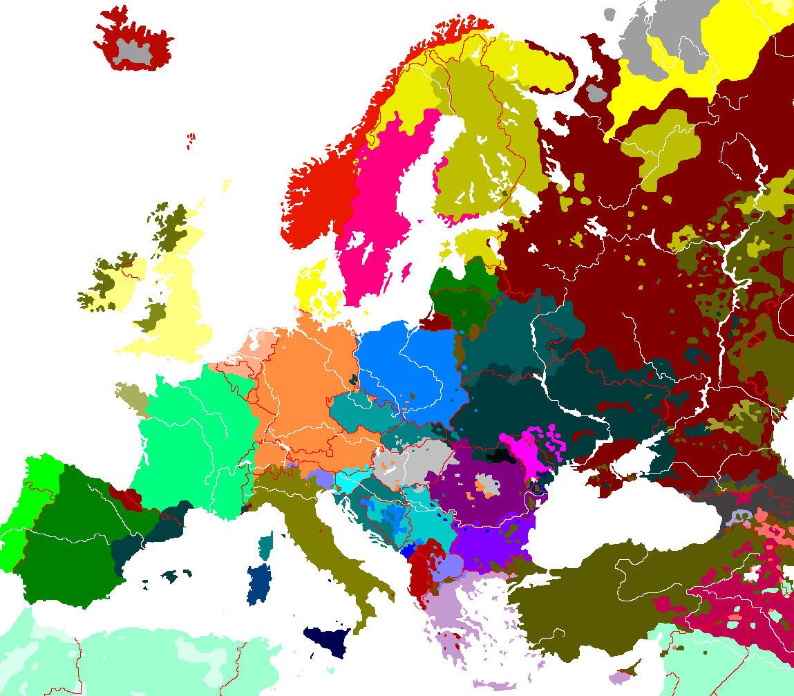 etnicka karta evrope Stavljajte svoje etničke mape [Tekst verzija]   Stranica 28   Forum.hr etnicka karta evrope