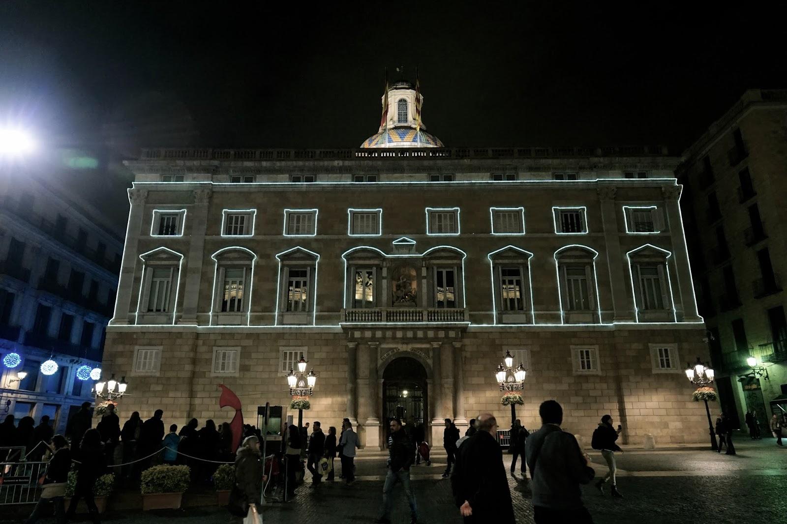 カタルーニャ自治州庁舎