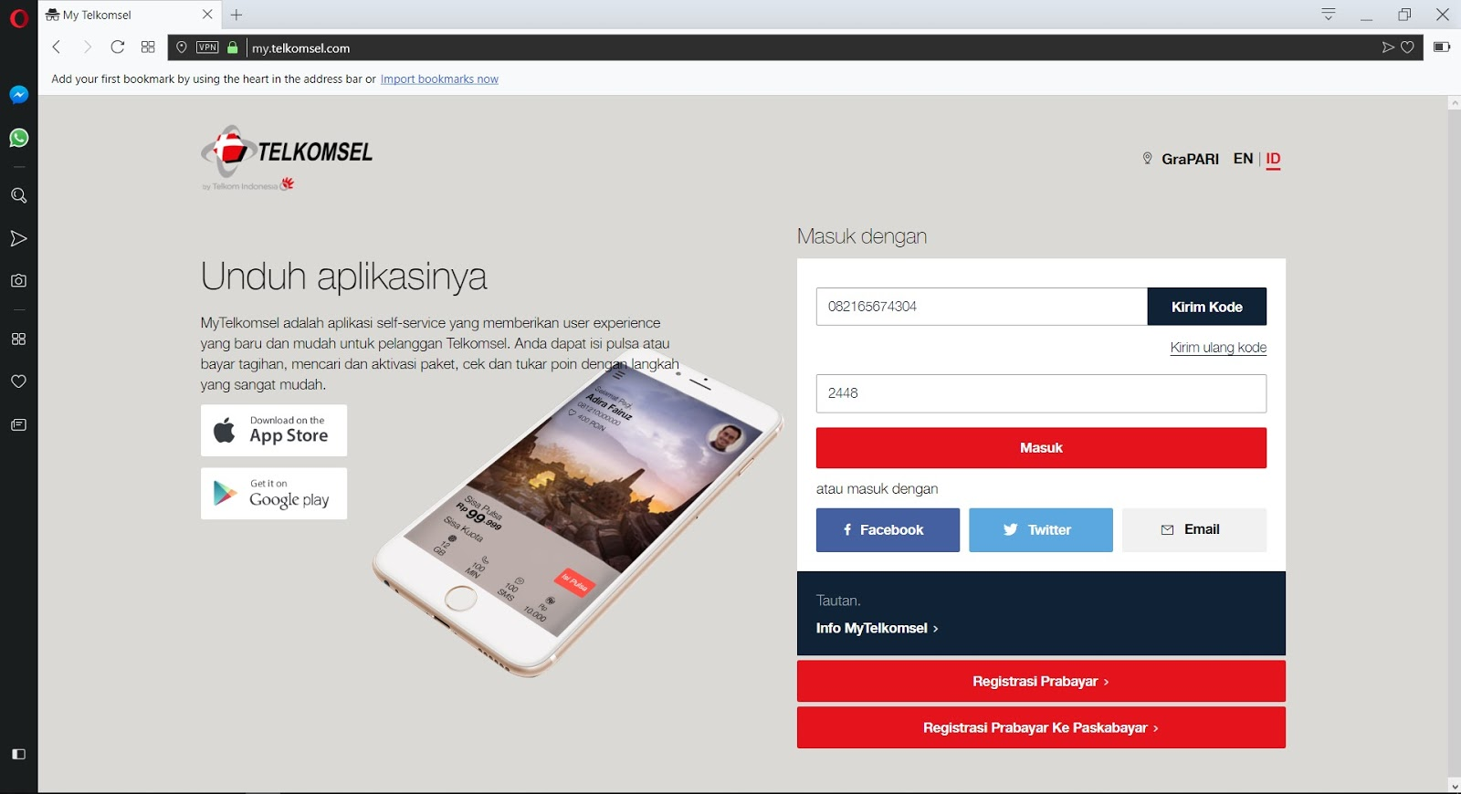 Cara Mengecek Kuota Telkomsel Website MyTelkomsel