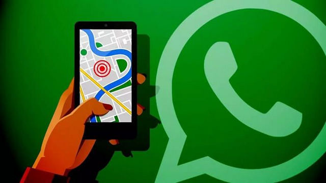 تتبع مكان اصدقائك علي الخريطة خطوة بخطوة من خلال واتساب