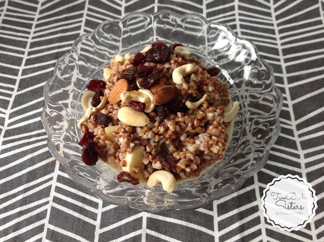 gryczanka na śniadanie blog kulinarny twobrokesisters