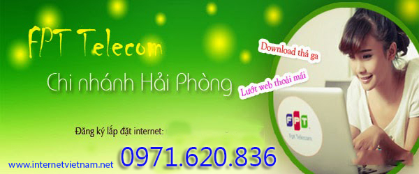 Đăng Ký Lắp Đặt Internet FPT Tại Hải Phòng