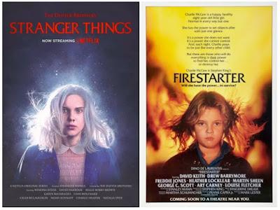 Pósters de películas Stranger Things - Firestarter