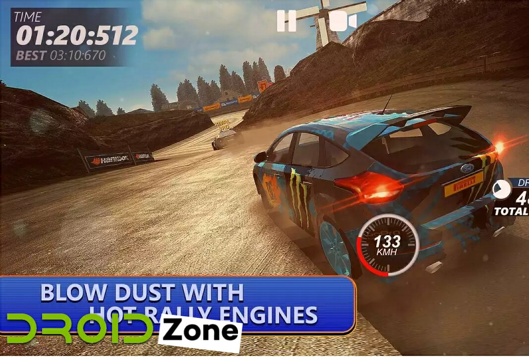 DriveLine Rally Asphalt and Off-Road Racing Mod v1.1 Apk