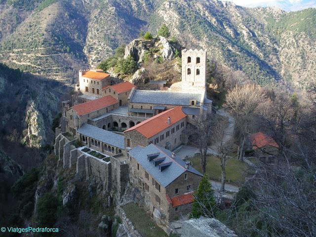 Sant Martí del Canigó, França, Art romànic, Pirineus Orientals, Catalunya Nord, Abat Oliba