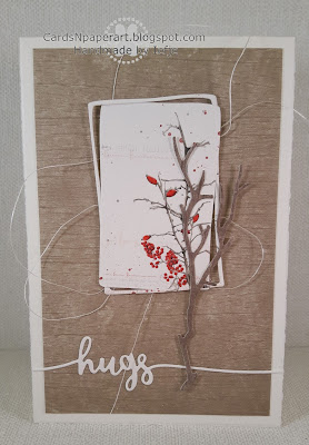 A. Renke DP card with Avery Elle diecut sentiment