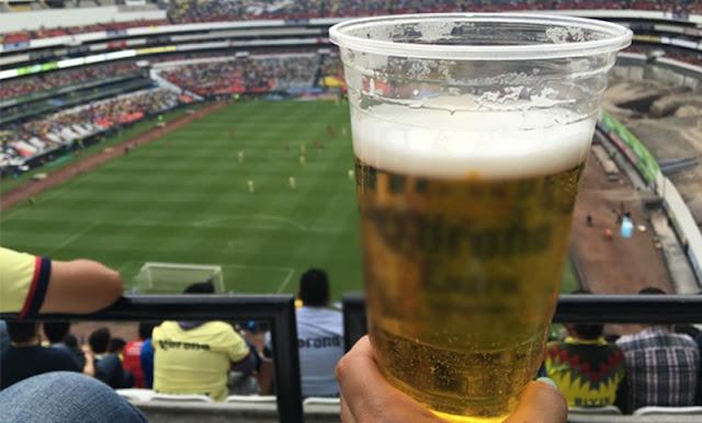 Diputada del PRI propone prohibir venta de alcohol en estadios de la capital