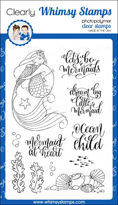 Let's Be Mermaids Stamp Set