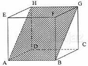 Bidang diagonal ABGH dalam kubus ABCD.EFGH